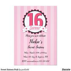 Sweet Sixteen Pink C