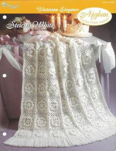Strictly White Afghan Collector's Series by KnitKnacksCreations