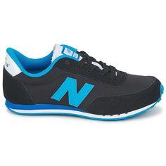 674d493a118 New Balance 410 Kid s Black Blue Kl410 Moda Hombre