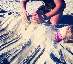 Beach games, beach joy, beach fun Sand feeling for the body, great for the senses!