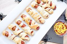 Recipe:+Mummy+Hot+Dogs
