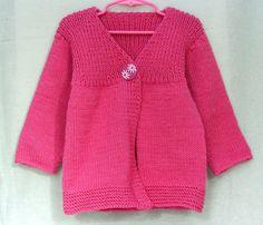Девочка свитер Raspberry Pink Шерсть / альпаки по SilverMapleKnits