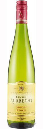 Lucien Albrecht Riesling Réserve Alsace 2011 #wine for Valentine's Day
