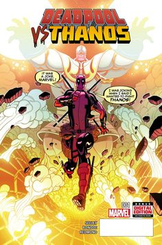 Marvel Preview: Deadpool vs Thanos #1