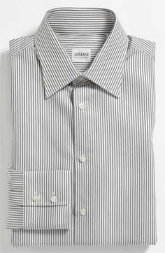 Armani Collezioni Modern Fit Dress Shirt
