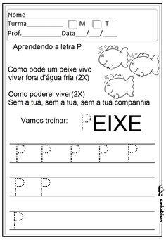 ATIVIDADES DE EDUCAÇÃO INFANTIL  E MUSICALIZAÇÃO INFANTIL: Atividade - Letras pontilhadas