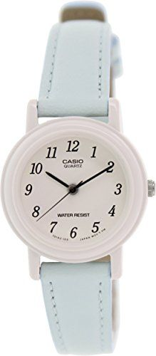 c010a291bad3 Amazon.com  Casio Women s Light Blue Genuine Leather Analog Watch  LQ139L-2B  Casio  Watches. Christmas Gifts For ...