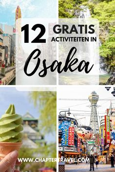 Find 12 Free things to do in Osaka in this article! Japan is known to be expensive, but don't let that stop you from visiting the country if you're on a budget. It's definitely possible to explore Japan on a budget. There are plenty of fun activities in O Japan Travel Guide, Asia Travel, Travel Guides, Hiroshima, Japan With Kids, Japan On A Budget, Japan Destinations, Free Things To Do, Fun Things