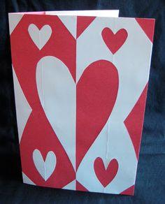 "Cut Paper Symmetry ""Pop-Out"" Card | TeachKidsArt"