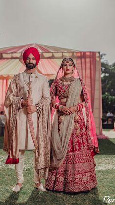 Sherwani For Men Wedding, Wedding Dresses Men Indian, Party Wear Indian Dresses, Indian Bridal Outfits, Indian Bridal Fashion, Indian Bridal Wear, Sikh Wedding, Sherwani For Groom, Punjabi Wedding