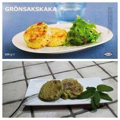 Avete mai mangiato i deliziosi medaglioni di verdure che servono all'Ikea? Si chiamano Gronsakskaka e non sono altro che degi sformatini patate e broccoli! Eccovi la ricetta sono identici!