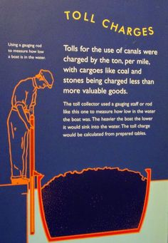 Canal Toll Charges, London, UK. canalmuseum.org.uk  ©SuziLove