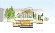 "Renzo Piano designs glass ""organic creature"" to house Pathé Foundation"