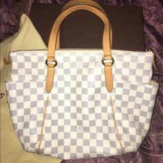 Trades welcome  Guaranteed authentic. In almost perfect condition. NO RIPS OR TEARS. Canvas is in perfect condition with no fading or marks of any kind. The leather is a nice light patina. No marks on leather. Just a little dirty inside. A little lip gloss inside one of the interior pockets. THIS WILL BE AUTHENTICATED BY POSH!! Do not ask authenticity questions, date code and heat stamp are pictured. Louis Vuitton Bags