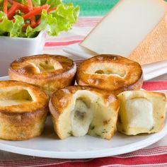 Moelleux coulants au fromage de brebis