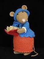 Bildergebnis für dickens mouse crochet pattern
