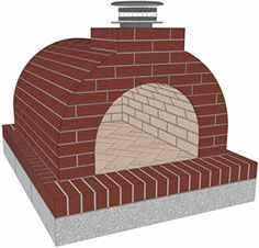 Instructions on How to Build a Mattone Barile Grande Firebrick Wood Fired Brick Pizza Oven