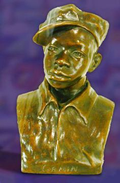 Gamin- Augusta Savage- American Art from the Howard University Collection Augusta Savage, Green Cove Springs, Howard University, Civil Rights Activists, Mecca, Famous Artists, American Art, Sculpture Art, African