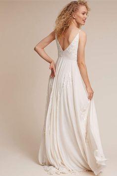 71207bf66970 BHLDN Dreams Of You Gown #BHLDN#Dreams#Gown Budget Wedding Dress, Dream