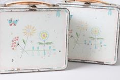 Retro 1950 Aladdin Jr. Miss Lunch Box with by Fleaosophy on Etsy, $35.00