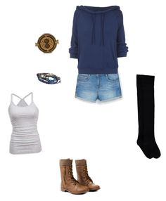"""The Tank"" by rainbowchanrawr on Polyvore featuring MANGO, Free People and American Eagle Outfitters"