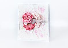 """Hello everyone.   I have a card to share with you!  I created this card for Prima's new challenge called """"Make it Prima""""          I used t..."""