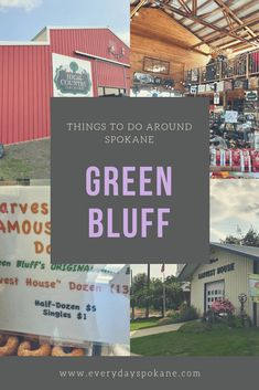 Are you looking for things to do at Green Bluff in Spokane, WA? Green Bluff is a series of farms, with U-Pick, produce stands, events and so much more. Moving To Washington State, Spokane Washington, Fun Fall Activities, Evergreen State, Family Vacation Destinations, Freshman Year, Amazing Adventures, Places Around The World, Pacific Northwest