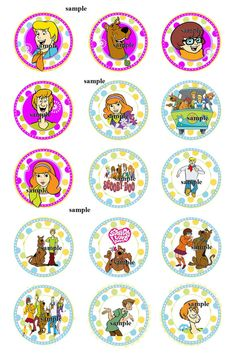 scooby doo 4x6 instant download images Bottle by SmokyMountainWood, $1.99