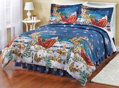 beautiful Christmas comforter sets