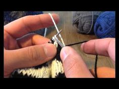 ▶ A Sockmatician Tutorial - Left -Leaning Decrease in Double Knitting - YouTube