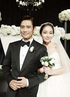 Lee Byung Hun & Lee Min Jung Tied The Knot … While We Slept : Couch Kimchi
