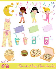 134 best pajama party printable images on pinterest pajama party rh pinterest com