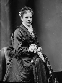 First Lady Lucretia Garfield  Birthplace Garrettsville, Ohio, Date of Marriage November 11, 1858