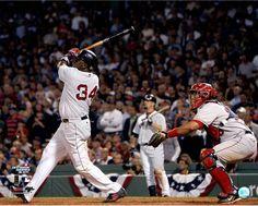 David Ortiz Swing vs Angels 16X20