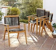Outdoor Dining Chairs | Pottery Barn