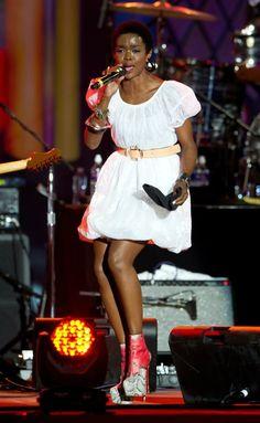 Lauryn Hill! cute