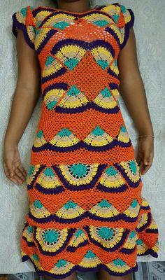 Vestido Ritinha crochet dress