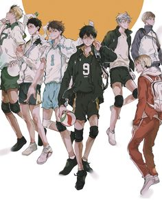The setters of Haikyuu!!