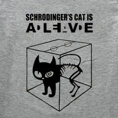 Schrodinger's cat tattoo