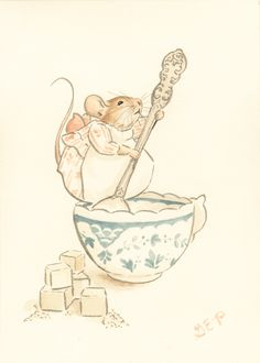 High Tea on Behance Art And Illustration, Watercolor Illustration, Beatrix Potter Illustrations, Cute Drawlings, Watercolor Animals, Pet Clothes, Pet Birds, Baby Animals, Fairy Tales