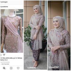 Model Kebaya Muslim, Kebaya Modern Hijab, Dress Brokat Modern, Model Kebaya Modern, Kebaya Hijab, Kebaya Lace, Kebaya Dress, Hijab Prom Dress, Simple Bridesmaid Dresses
