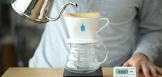 Learn how to brew pour over coffee with a dripper. We offer step-by-step tutorials to make drip brewing simple and easy. Also shows the pre-heating part!
