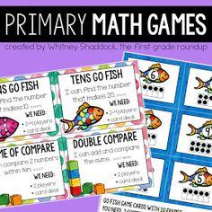 Firstgraderoundup : Throw Away the Base 10 Blocks Primary Maths Games, Math Games, Common Core Math, Common Core Standards, 1st Grade Math, First Grade, Waldorf Math, Parent Volunteers, Math Talk