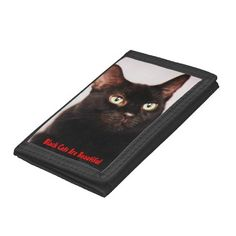 Black Cats Are Beautiful Wallet