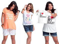 Cantinho Infantil da Bia: Camisetas divertidas para grávidas