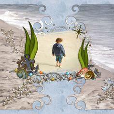 Beach Stroll ©Maree Mulreany 2012