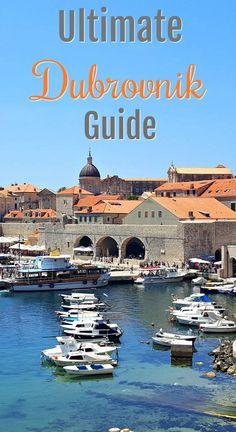 Ultimate Dubrovnik Guide