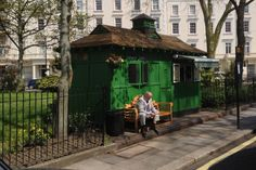 Fund to keep cabbies' huts evergreen London Architecture, Green Houses, New London, Vintage London, Shelters, Evergreen, Leadership, England, News