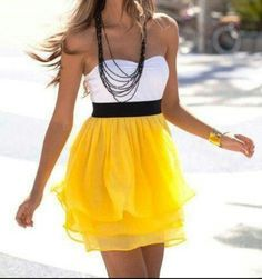 Yellow clothes