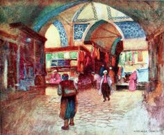 Warwick Goble - In the Grand Bazaar